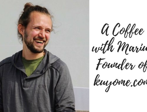 A Coffee with Marius – Founder of Kuyome